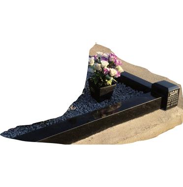 Standard Flat Edged Kerbed Memorials