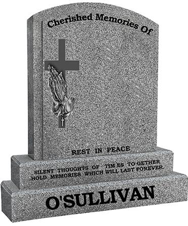 CHERISHED MEMORIES OF GREY G603 O SULLIVAN HEADSTONE