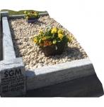 Bull nosed edged Kerbed Memorials-3