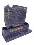 BRONZE CROSS CUNNINGHAM GRANITE MEMORIALS Lawn Cemetery