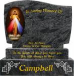 Flat Edged Kerbed Memorials-8